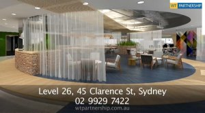 WTP has a new Sydney office